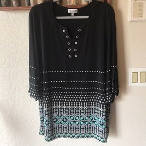 Silky and stretchy top